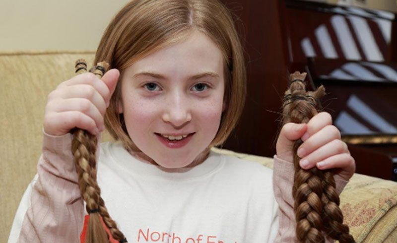 Annabelle S Hair Cut To Benefit Sick Kids North Of England