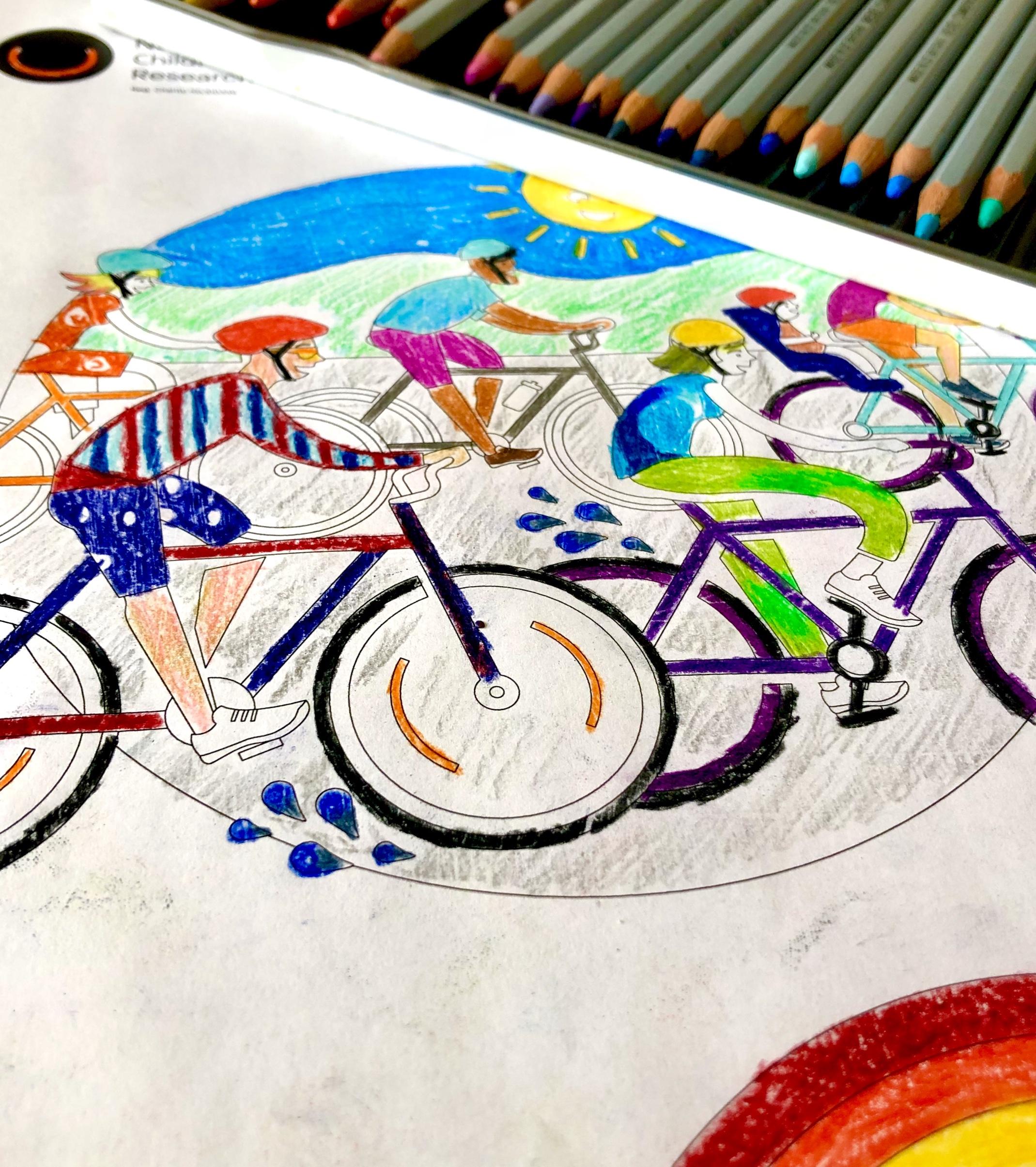 coloured in NECCR illustration