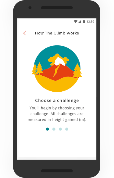 The Climb Mobile App, How It works
