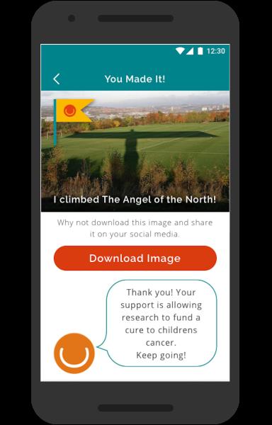 The Climb Mobile App - Share your achievements